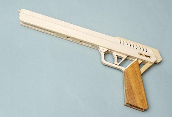 Ogg Craft Semi Auto Rubber Band Guns