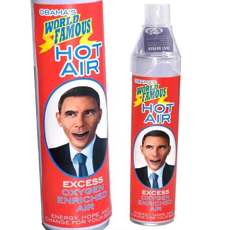 Obama's Hot Air Spray