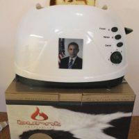 Obama Toaster