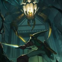 Ocarina of Time Skulltula vs Link Poster