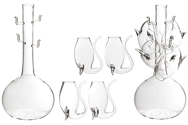 Oenophilia Porto Decanter Glasses
