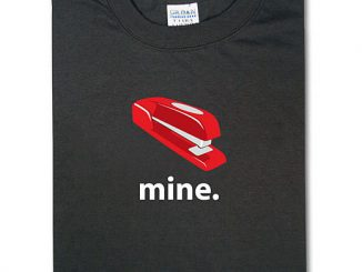 Office Space Red Stapler T-Shirt