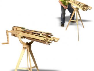 Office Warrior Rubber Band Machine Gun