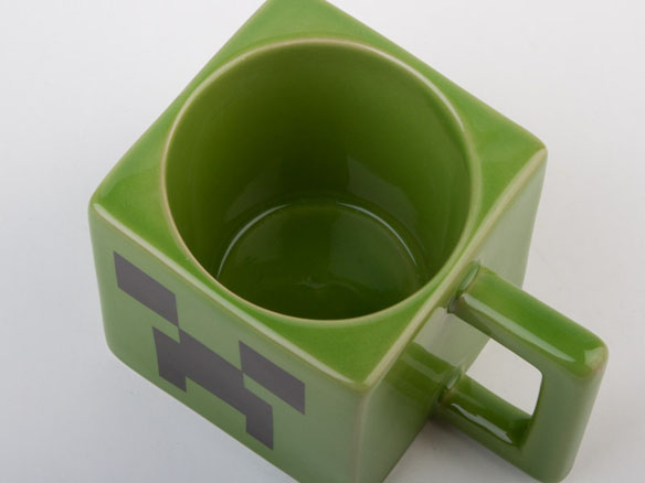 Official Licensed Minecraft Creeper Face Mug