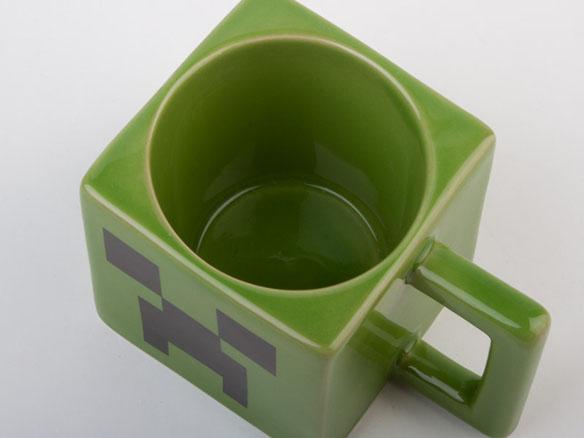 Official Licensed Minecraft Creeper Face Mug
