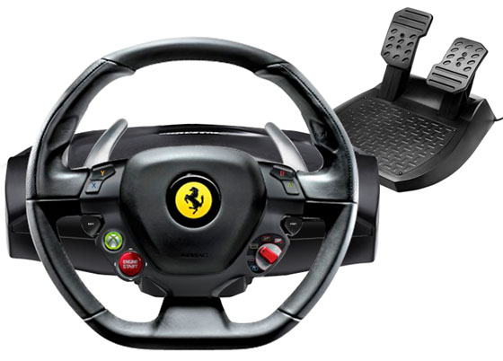 Officially Licensed Ferrari 458 Italia Racing Wheel