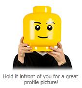 Officially Licensed LEGO Storage Head