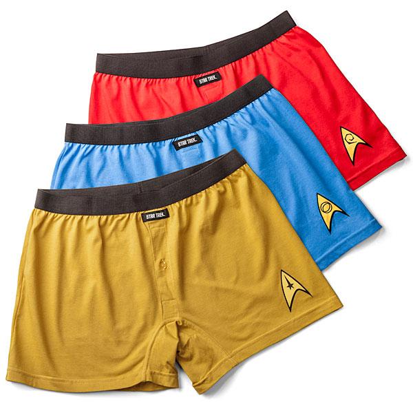 87e03bed06 Officially Licensed Star Trek Boxer Briefs