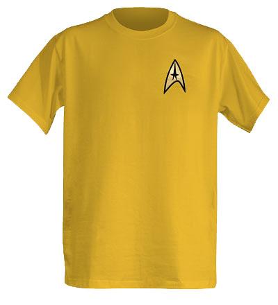 Officially Licensed Star Trek Original Series T-Shirts Captain Kirk