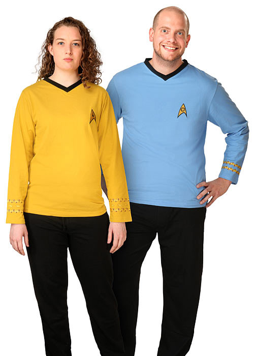 Officially Licensed Star Trek Pajama Set