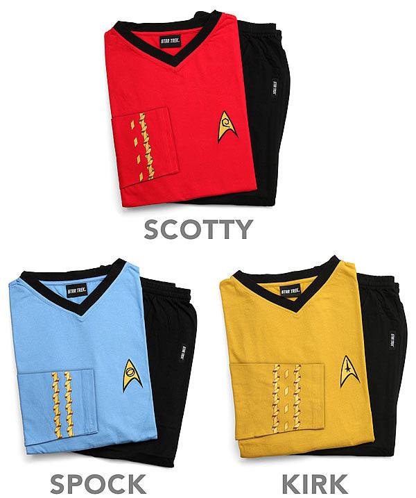 Officially Licensed Star Trek Pajamas