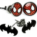 Officially-licensed Marvel and DC Earrings
