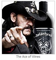 Officially licensed Motorhead Shiraz