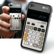 Old-School Calculator iPhone 4G Case