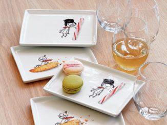 Oliver Appetizer Plate