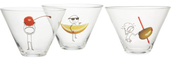 Oliver Martini Party Glasses