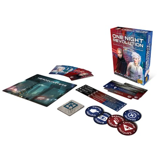 One Night Revolution Strategy Game