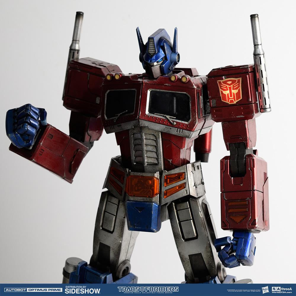 Optimus Prime Classic Edition Collectible Figure