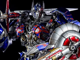 Optimus Prime Premium Scale Collectible Figure