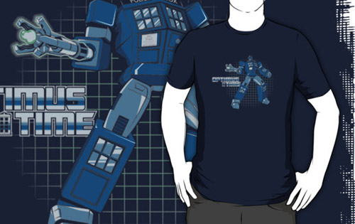 Optimus Time Shirt