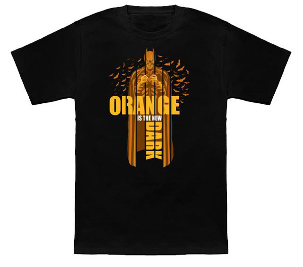 Orange Knight Shirt