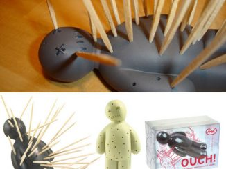 Ouch Voodoo Doll Toothpick Holder