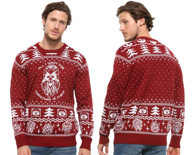 Our Universe Star Wars Happy Life Day Ugly Holiday Sweater