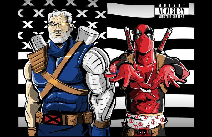 Outkast Stankonia T-Shirt Mashup with Deadpool and Cable