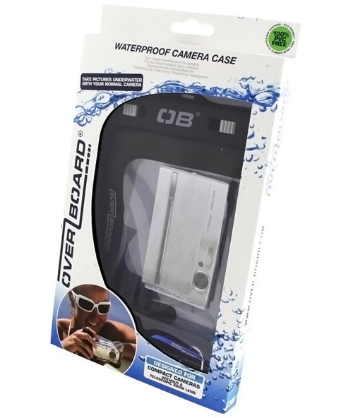 Overboard Waterproof Compact Camera Case OB1025 BLK