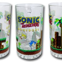 Oversized Sonic the Hedgehog Beer Mug