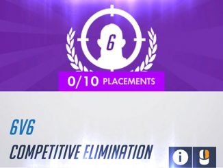 Overwatch 6v6 Competitive Elimination