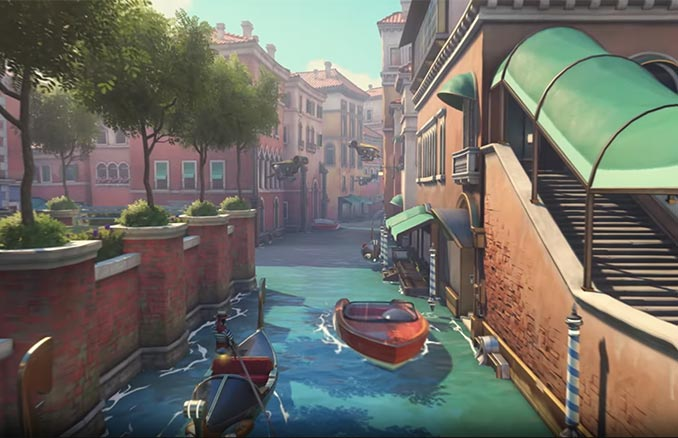 Overwatch Escort Map Rialto