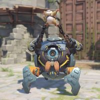 Overwatch Hero Wrecking Ball Hammond