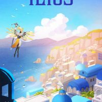 Overwatch Ilios Travel Poster