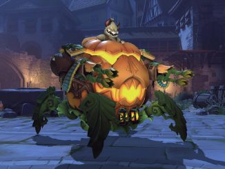 Overwatch Jack-o-Lantern Wrecking Ball
