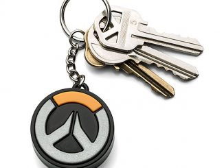Overwatch Light-Up Logo Keychain