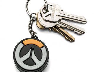 Overwatch Light-Up Logo Keychain
