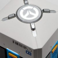 Overwatch Loot Box Mood Light Detail