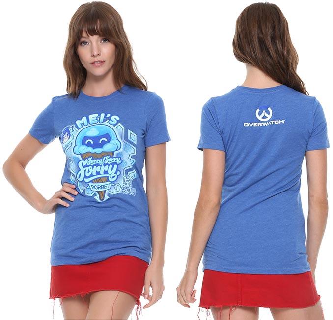 Overwatch Mei's Sorbet T-Shirt