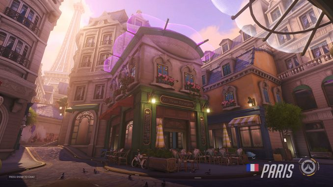 Overwatch Paris Map