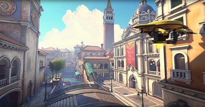 Overwatch Rialto Venice Italy