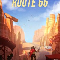 Overwatch Route 66 Travel Poster