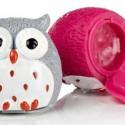 Owl Lip Balm Set (Chocolate Orange and Strawberry)