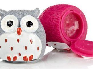 Owl Lip Balm Set (Chocolate Orange and Strawberry)