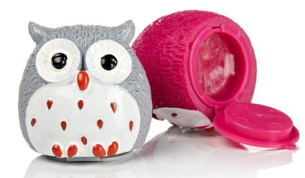 Owl Lip Balm from Forever I have it in watermelon, coconut, mint & marshmallow Find this Pin and more on Owl Lip Balm by Catherine Bayani. Owl lip .