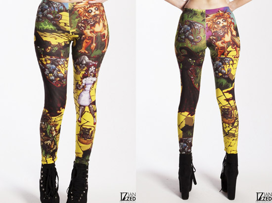 Oz Zombie Leggings