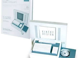 P.C. (Paper Computer) Novelty Paper Craft Kit
