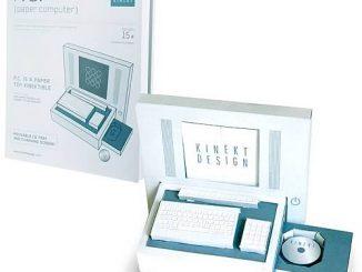 P.C. (Paper Computer) Novelty Paper Craft Kit