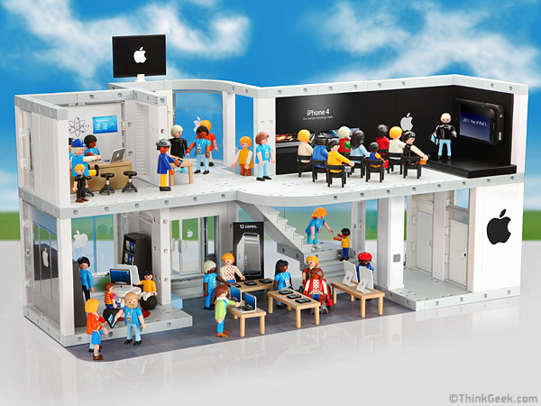 Playmobil apple store playset for Piscine playmobil