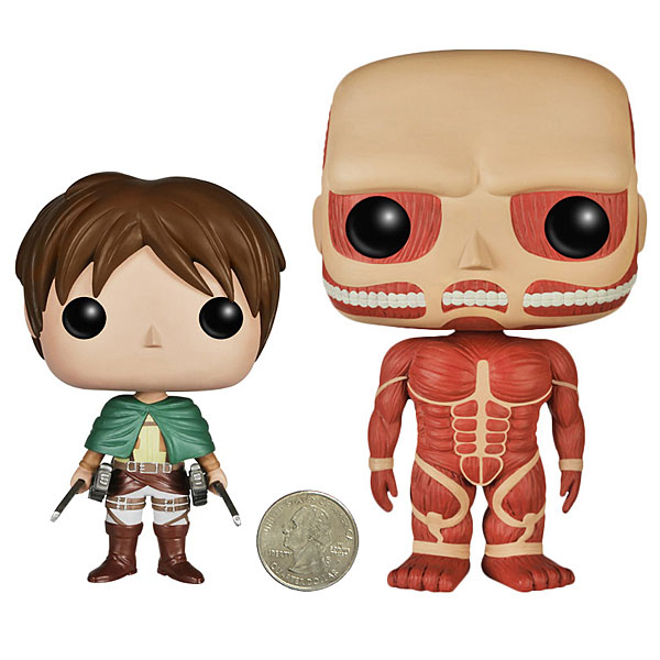 POP Attack on Titan Vinyl